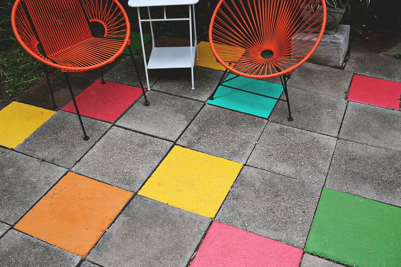 Can Outdoor Tiles Be Painted