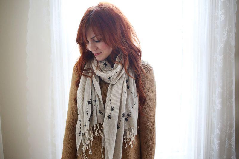 Constellation scarf
