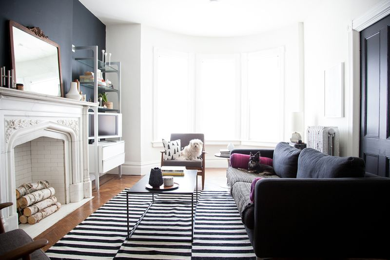 At Home With Anna Dorfman via A Beautiful Mess