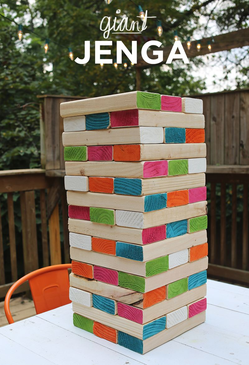 Giant Jenga – A Beautiful Mess