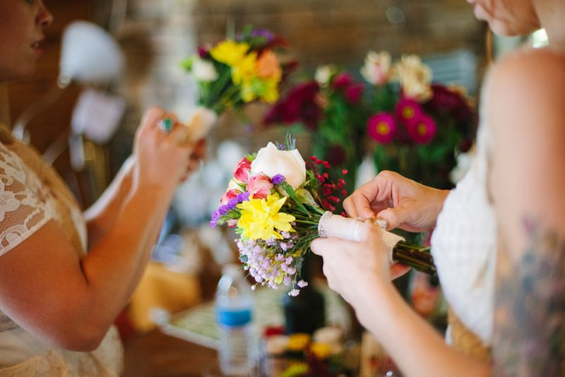 Tips for DIY Wedding Day Flowers A Beautiful Mess