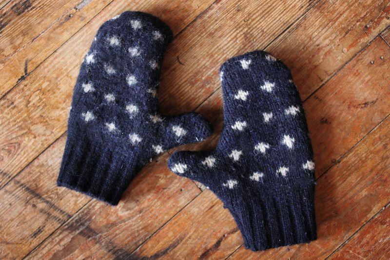 Sew your own mittens