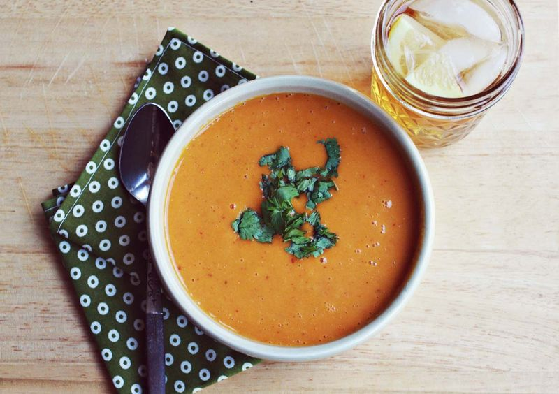Sweet potatoe soup