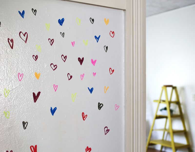 Try This Paint A Wall With Whiteboard Abeautifulmess
