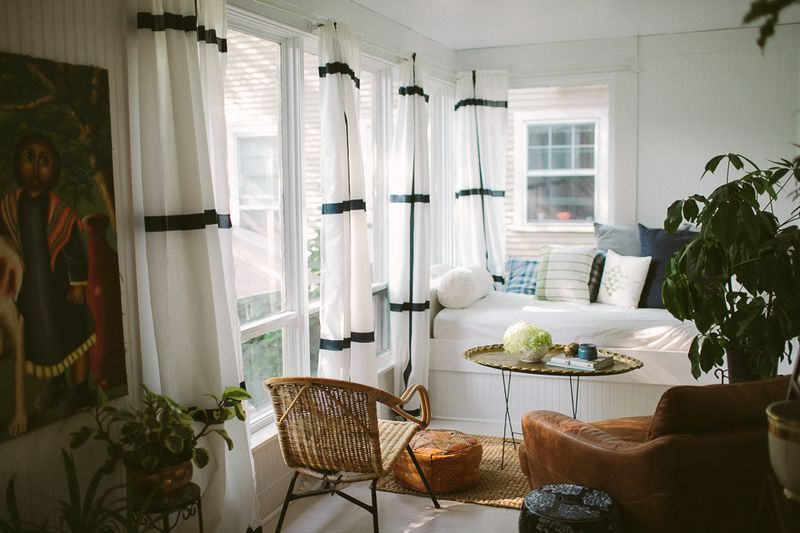 Such a beautiful sunroom