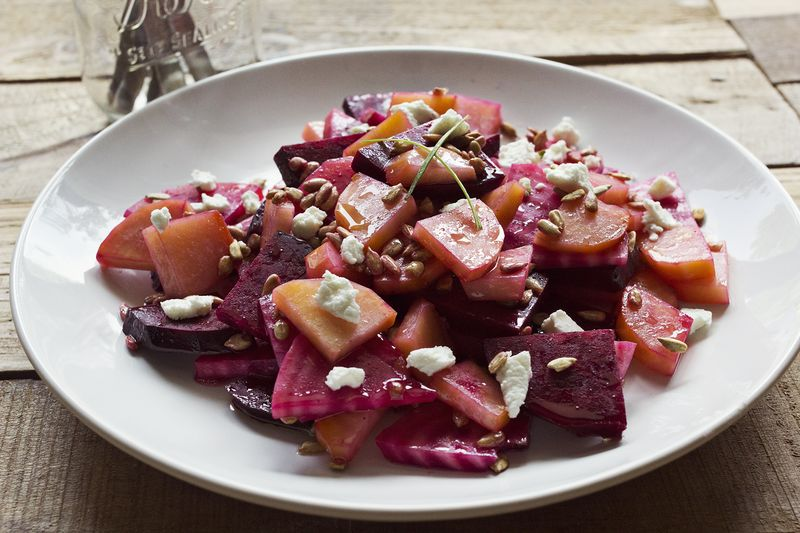 My favorite beet salad abeautifulmess.com