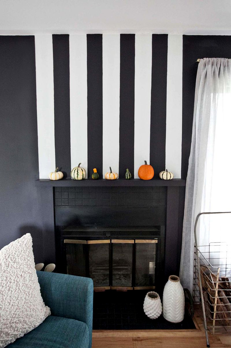 Emma's fireplace makeover via abeautifulmess.com
