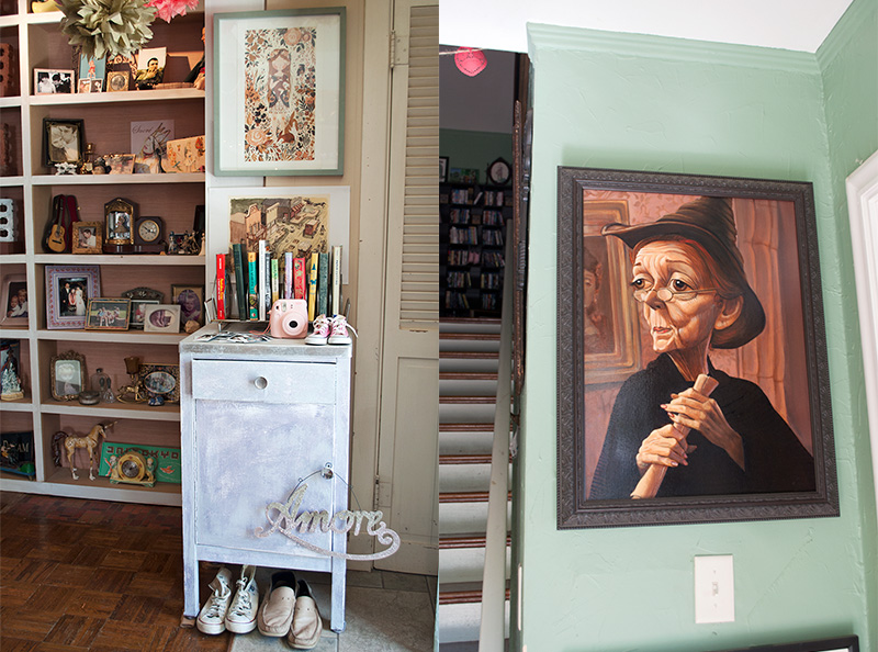 Lovely details in the home of Sherri Bemis