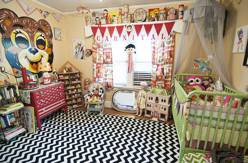 Adorable circus themed nursery