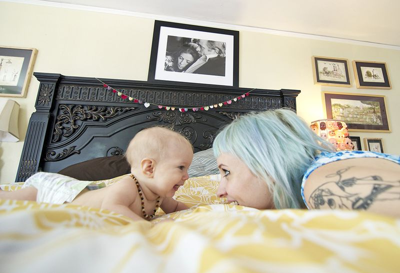 Sherri Bemis with her daughter Lucy