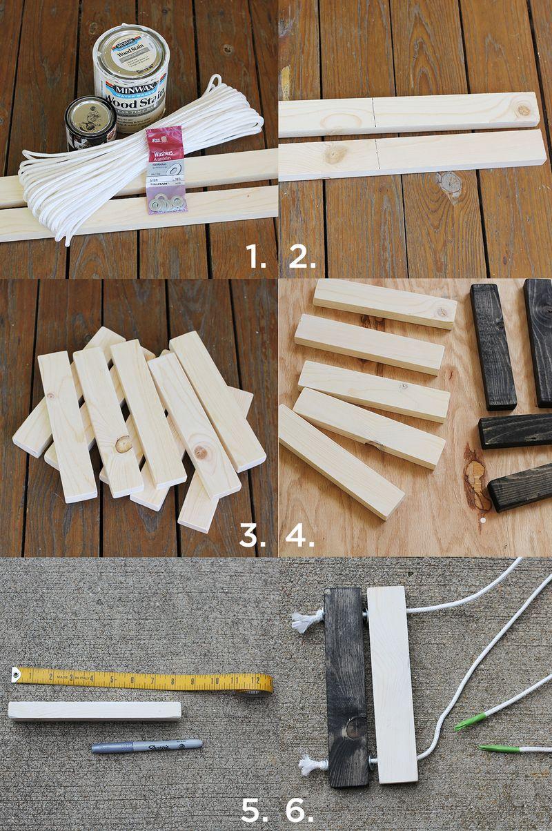 How to make a trivet