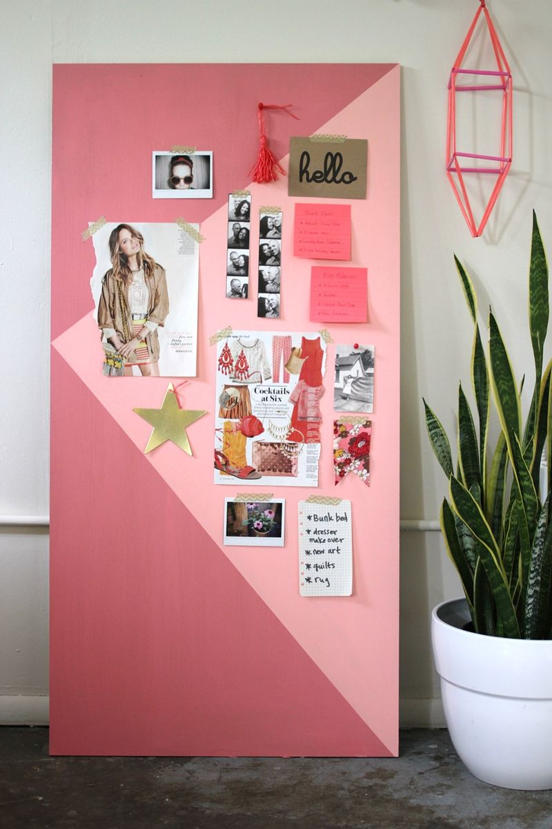Try This: Color Block Mood Board - A Beautiful Mess