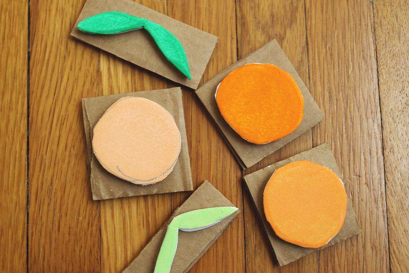 Make a foam stamp