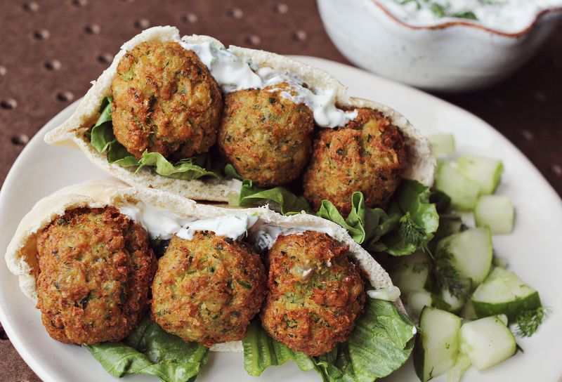 25 vegetarian friendly dishes a beautiful mess falafel forumfinder Image collections