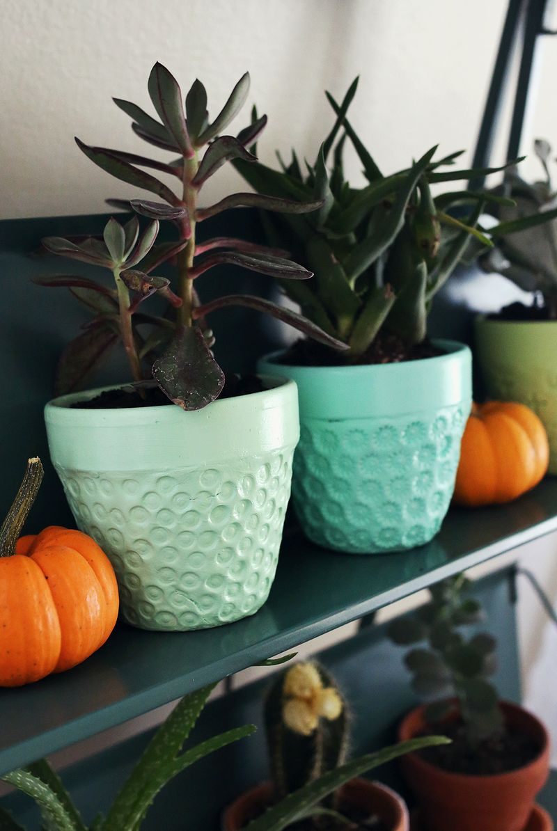Try This: Textured Planter Project