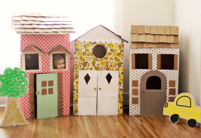 DIY Cardboard Playhouses - A Beautiful Mess on upload design, mets design, blockquote design, datatable design, datagrid design, company branding design, spot color design, dvb design, cvs design, pie graph design, theming design, openoffice design, web design, ms word design, simple text design, potoshop design, interactive website design, page banner design, interactive experience design, civil 3d design,
