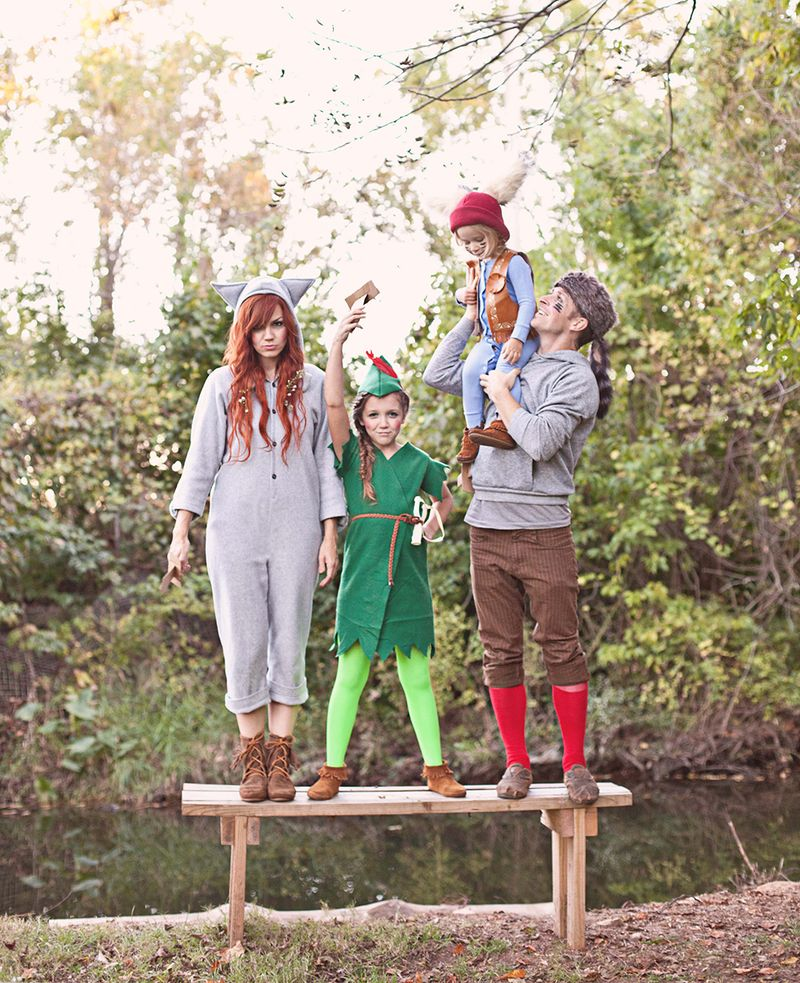 Peter Pan And The Lost Boys Costume Diy A Beautiful Mess