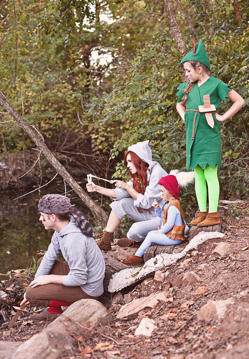 Perfect Peter Pan and the Lost Boys costume DIY