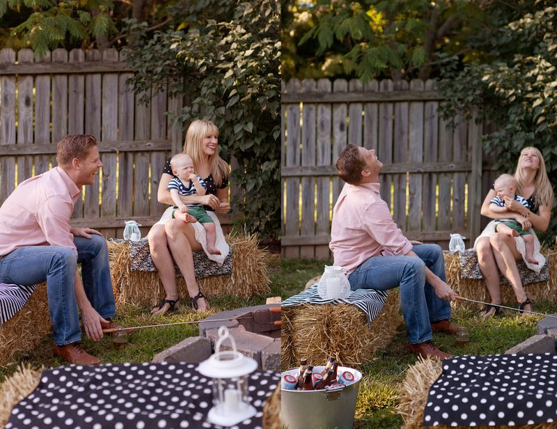 Host an outdoor party before it's too cold!
