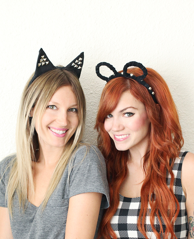 Adorable animal headband DIY!