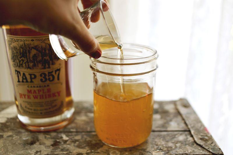 Spiked Apple Cider Float