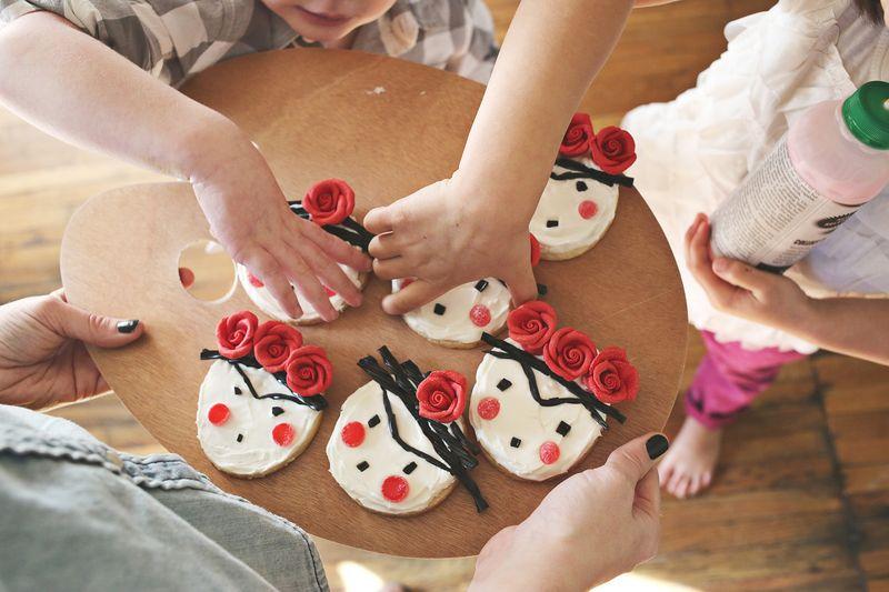 Frida cookies!