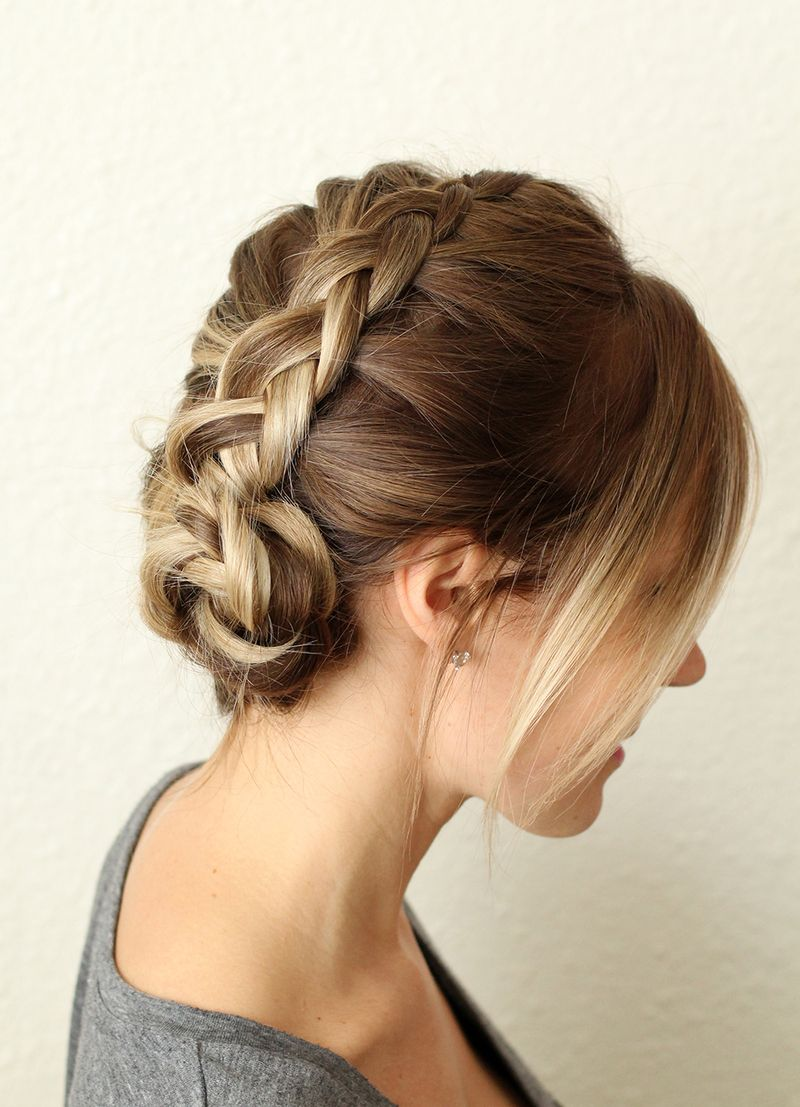 Dutch Braided Headband: How To Style A Simple Dutch Braid