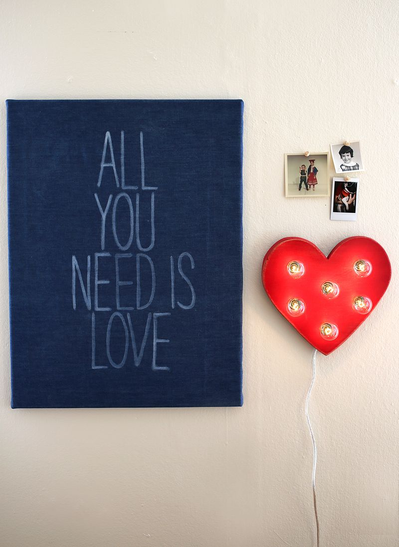 All You Need Is Love Click Through For DIY Details