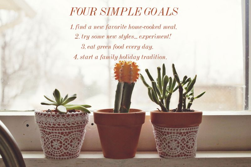 Four simple goals