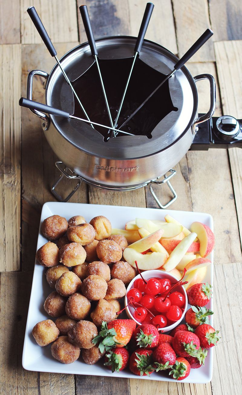 Chocolate Cherry Liqueur Fondue A Beautiful Mess