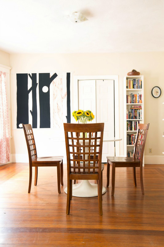 At Home With Erica Feldmann - A Beautiful Mess  X Kitchen Dining Room Ideas Html on