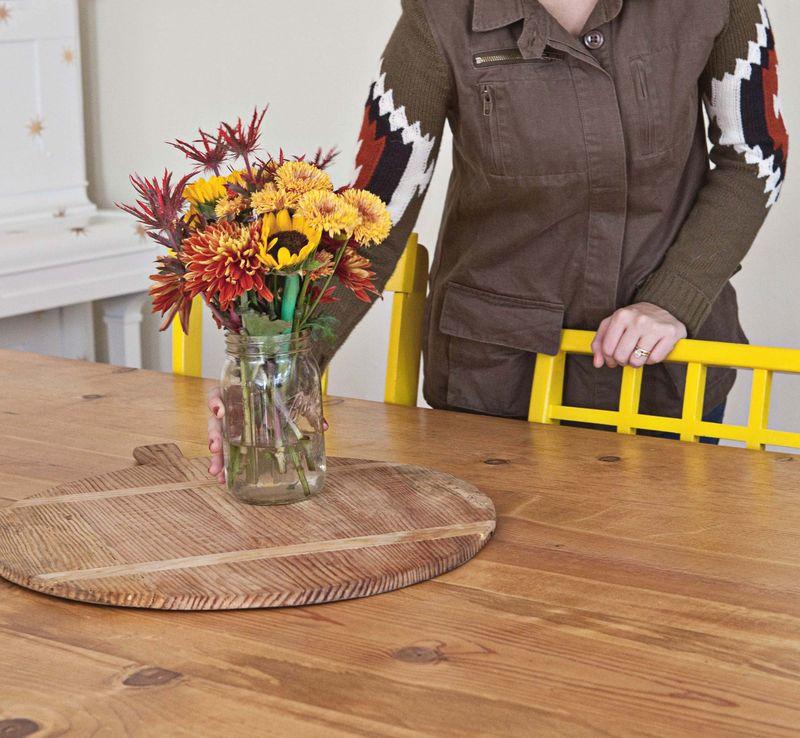 Elsie Larson's Dining Room Tour