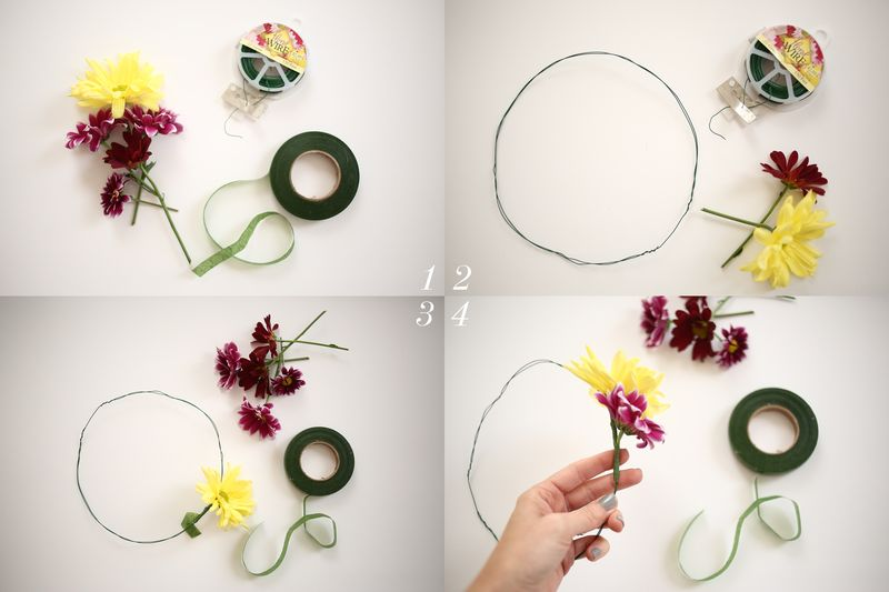 How To Make A Fresh Flower Crown Beautiful Mess