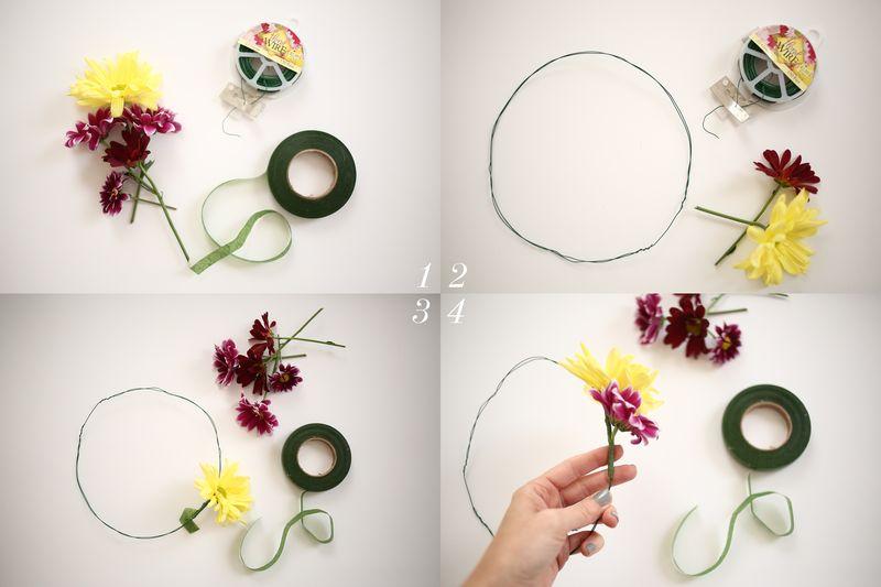 Fresh Flower Crown DIY