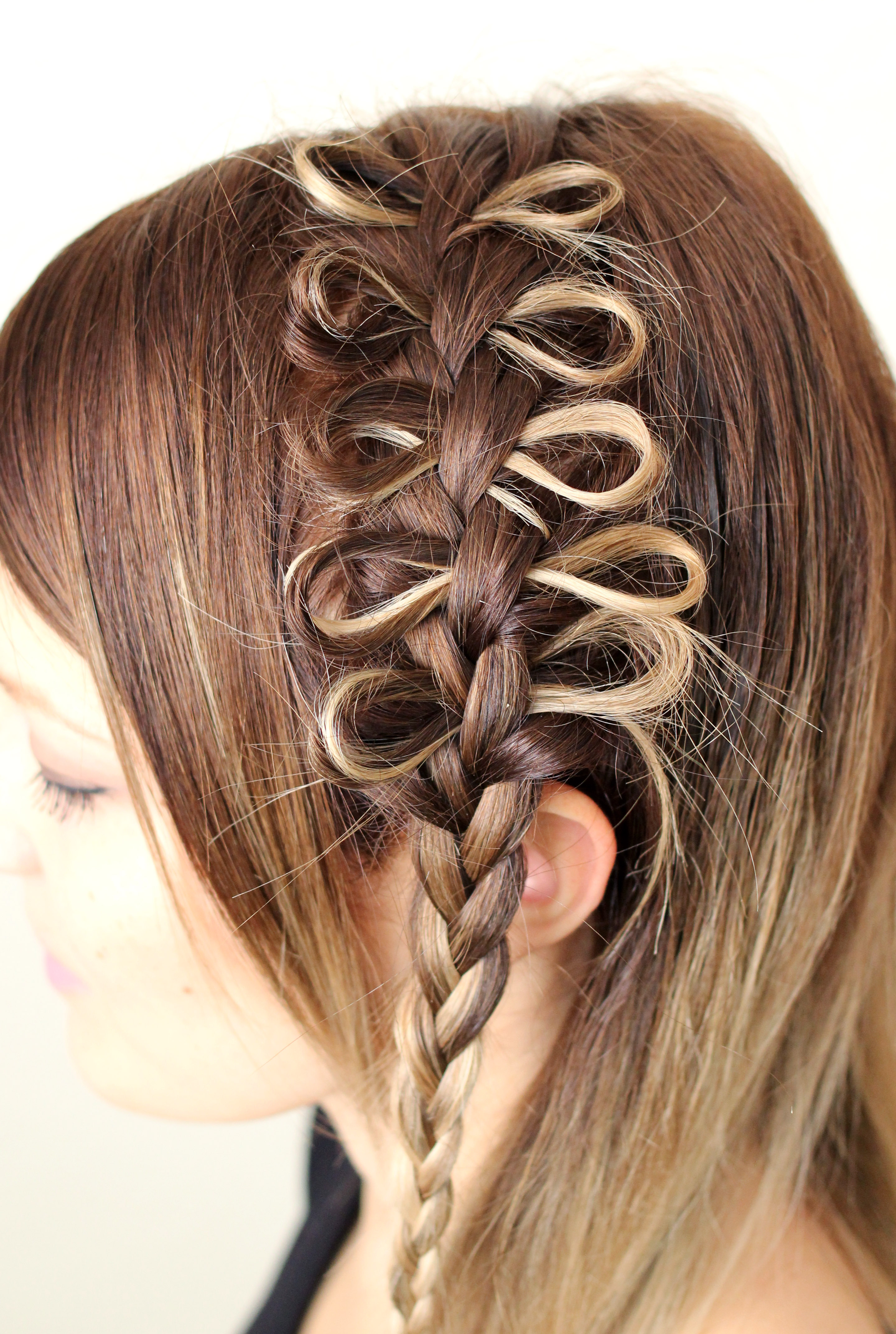 Superb How To Style A Bow Braid A Beautiful Mess Short Hairstyles Gunalazisus