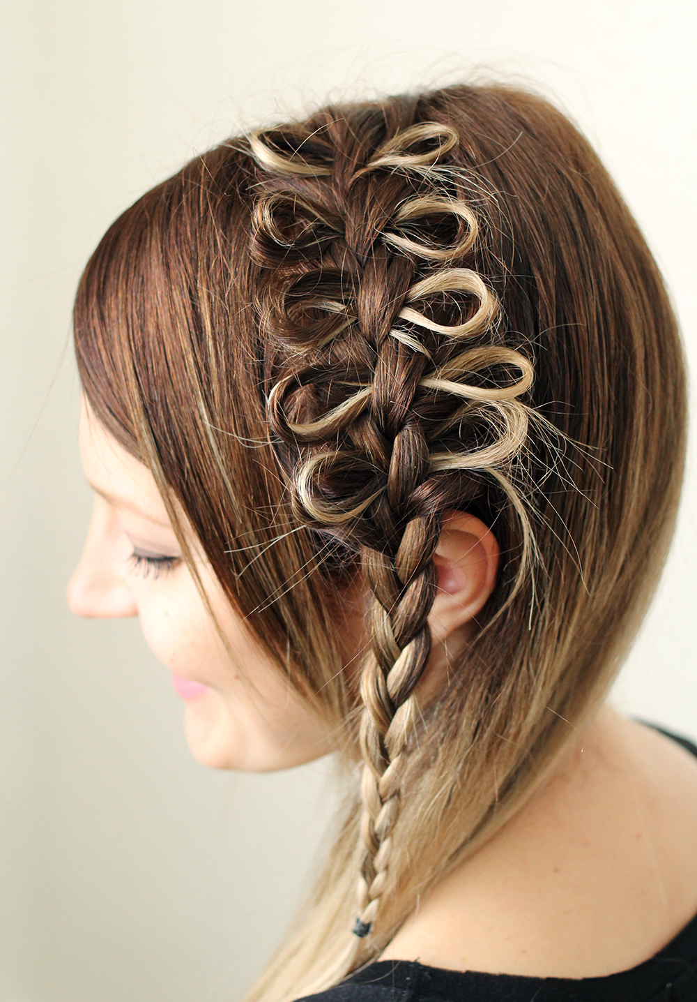 Fine How To Style A Bow Braid A Beautiful Mess Hairstyle Inspiration Daily Dogsangcom