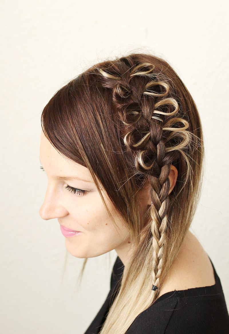 Amazing How To Style A Bow Braid A Beautiful Mess Hairstyle Inspiration Daily Dogsangcom