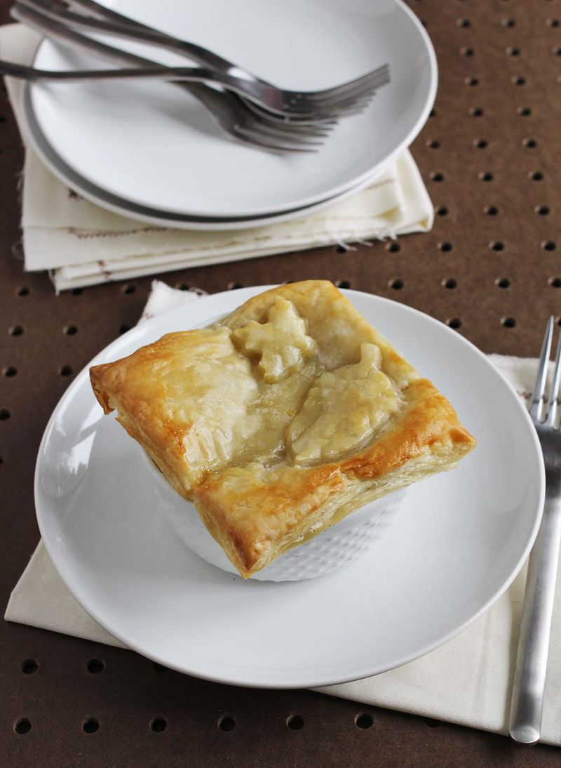 Best veggie pot pie recipe