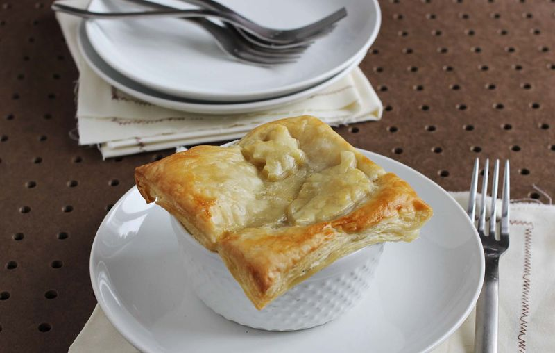 Veggie pot pie!