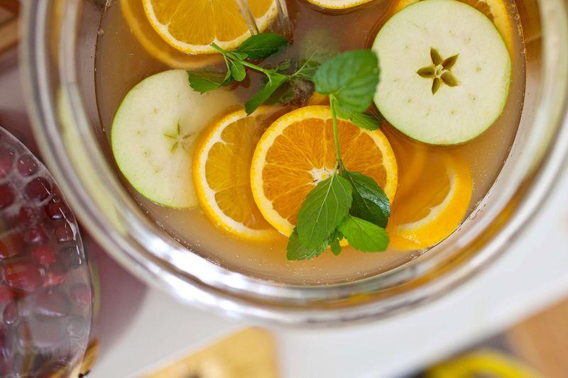 Apple Cider Punch Bowl