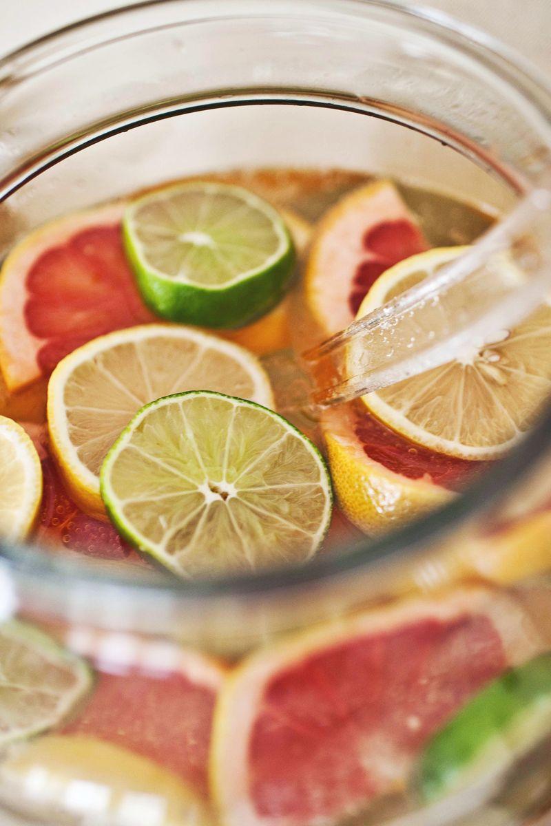 Citrus Punch Bowl