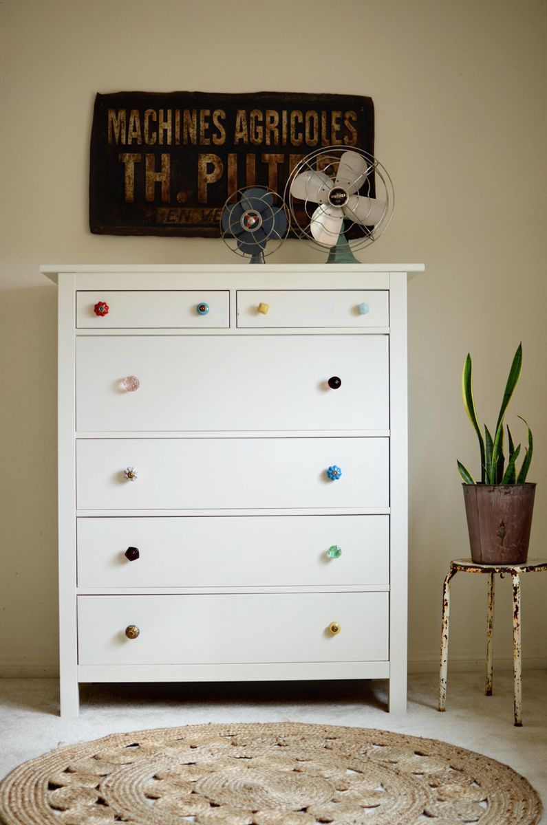 Try This Mismatched Dresser Knobs A Beautiful Mess