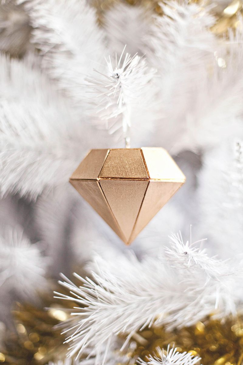 Balsa wood diamond ornament a beautiful mess Make your own 3d shapes online
