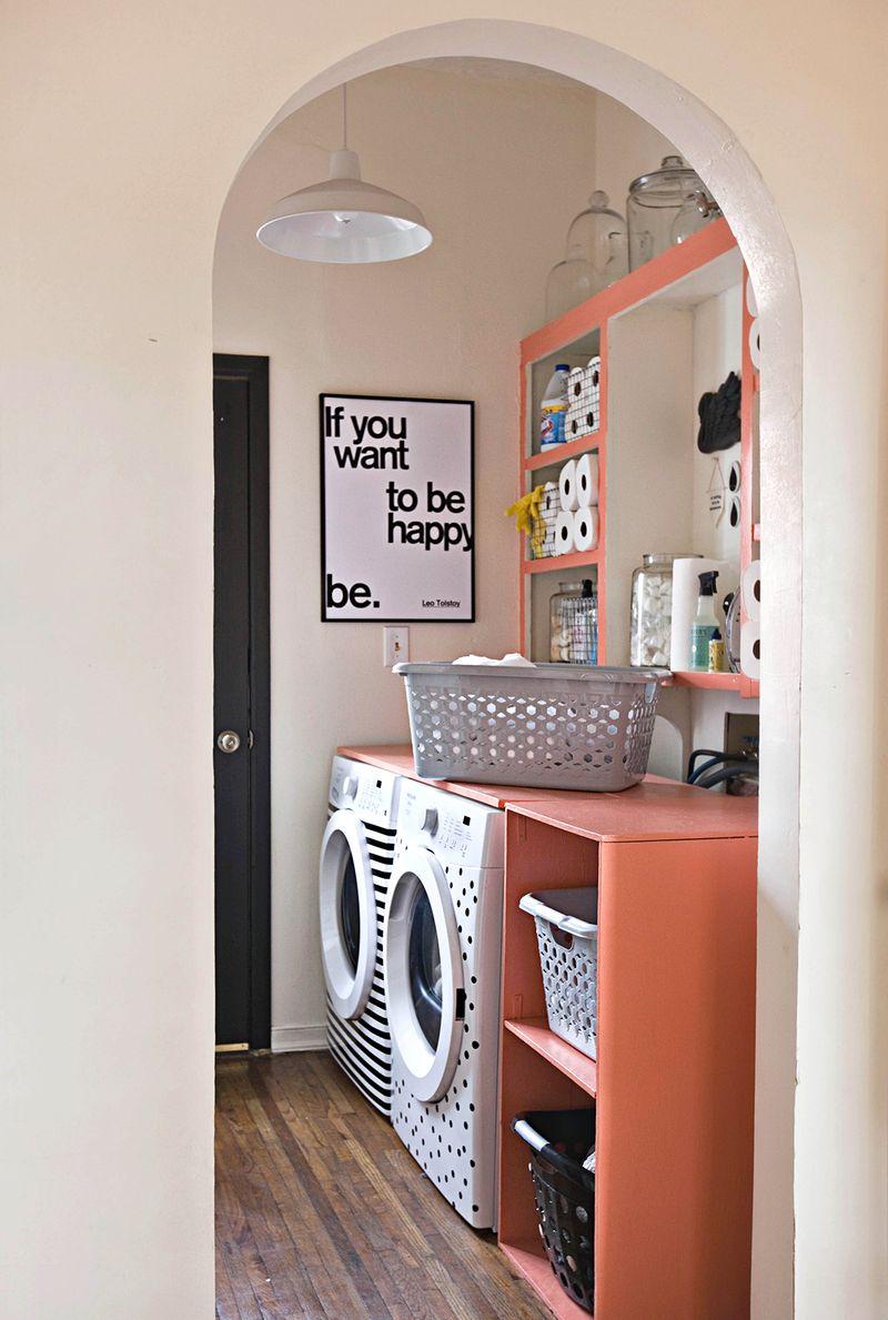 Fun etsy art Elsieu0027s Laundry Room Tour