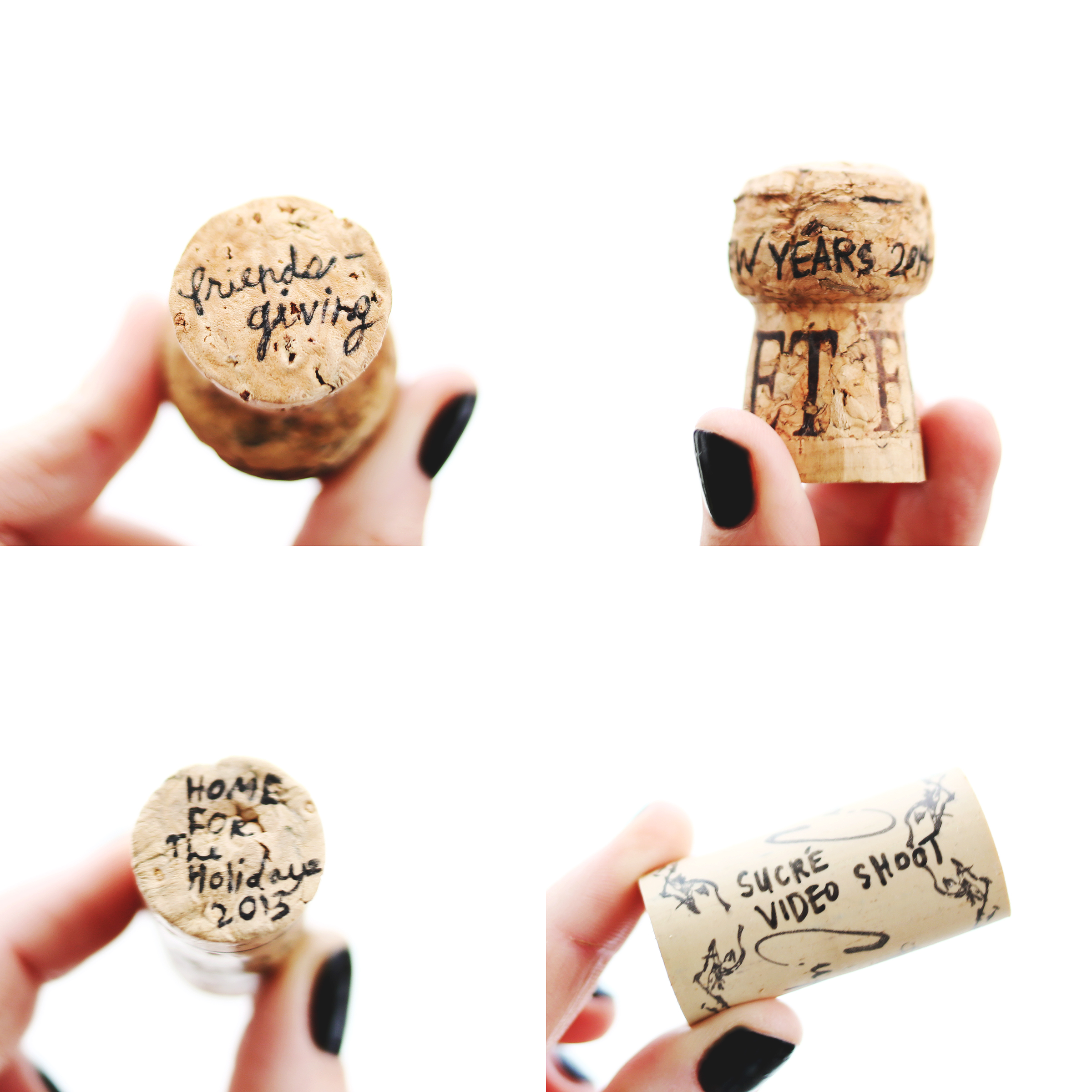 Little Traditions- saving corks from special occasions and happy times!