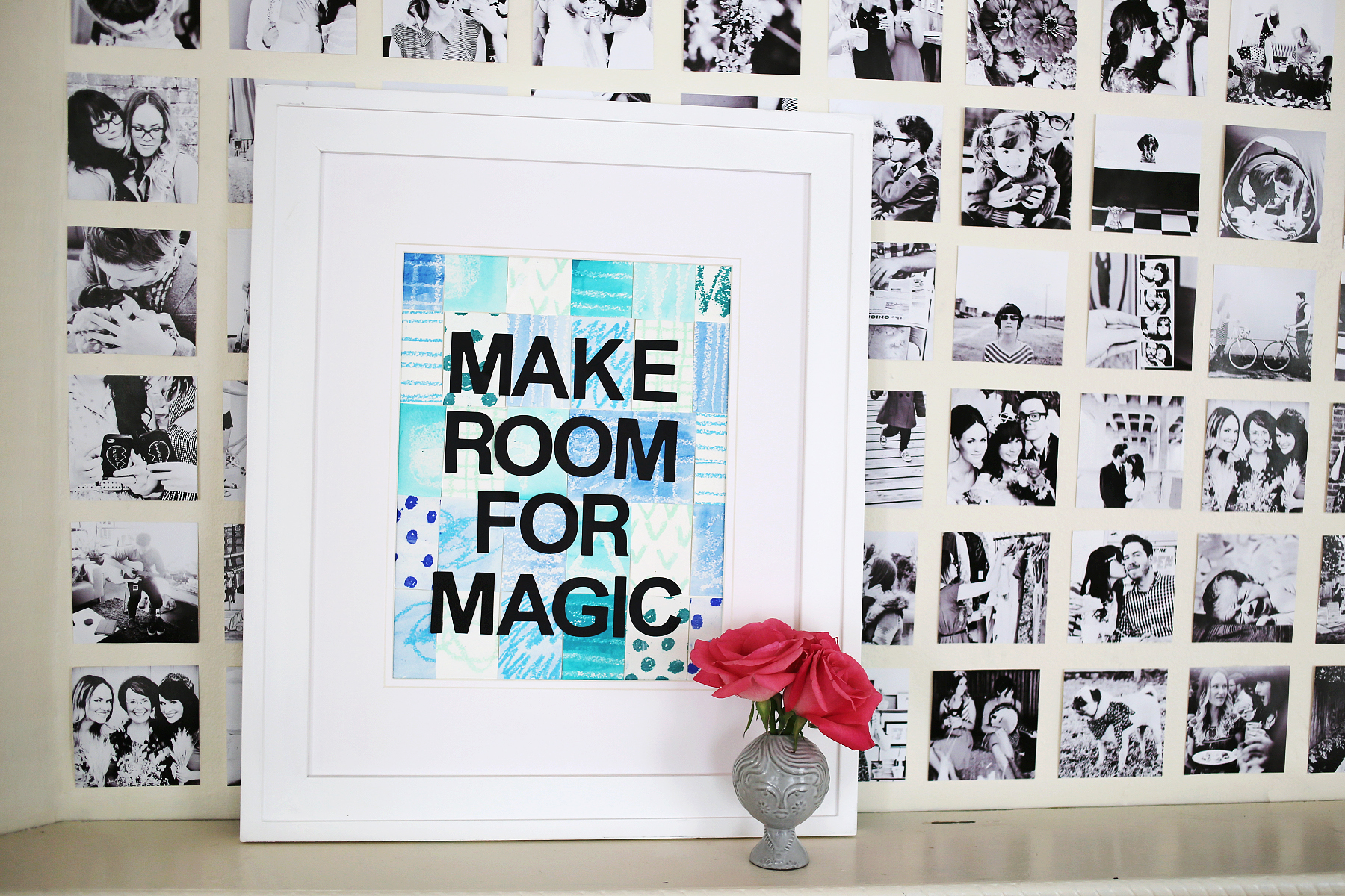 Make Room For Magic DIY wall art