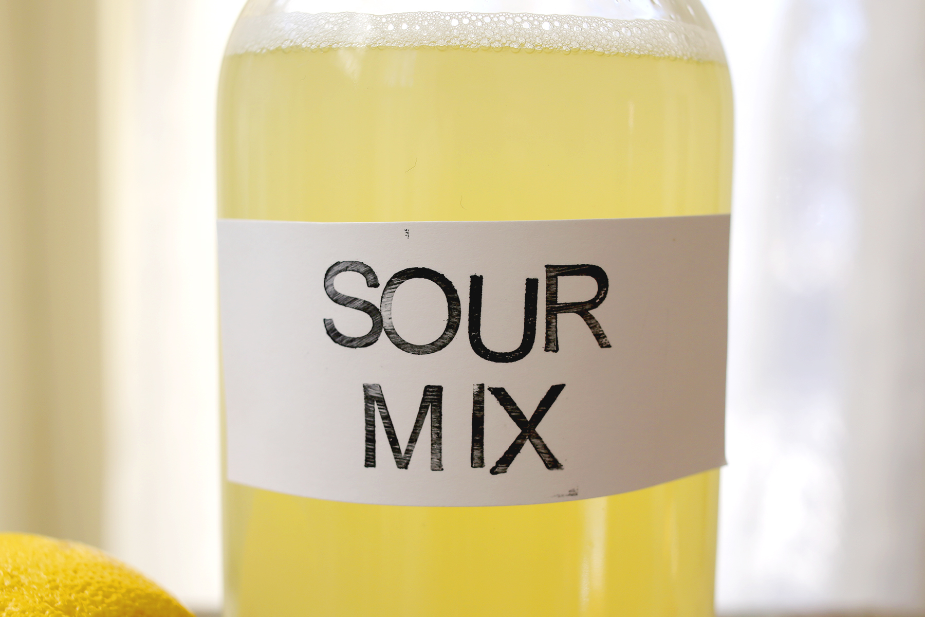 How to make your own sour mix at home. homemade is so much more tasty ...