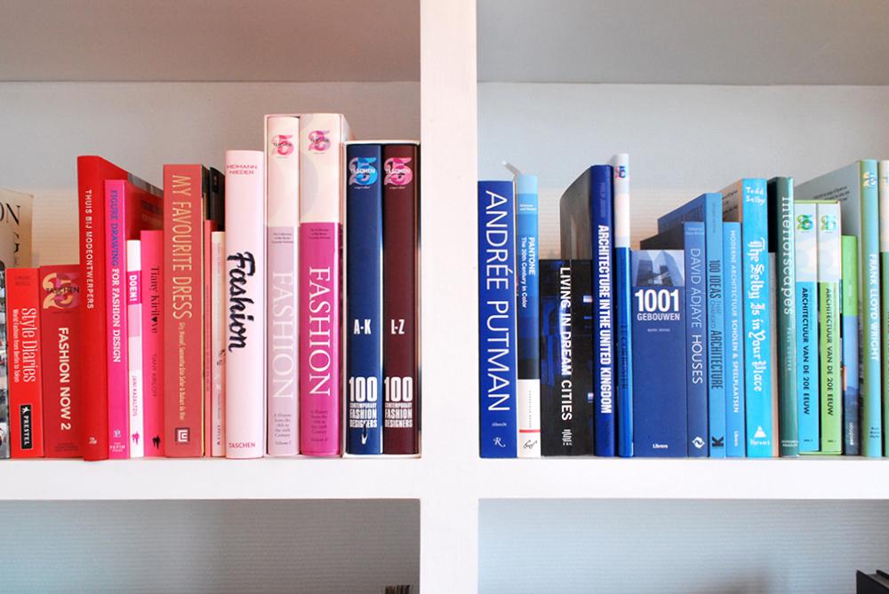 Love the rainbow books!