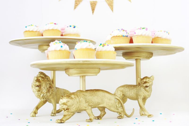 Paper Cake Stands Ideas