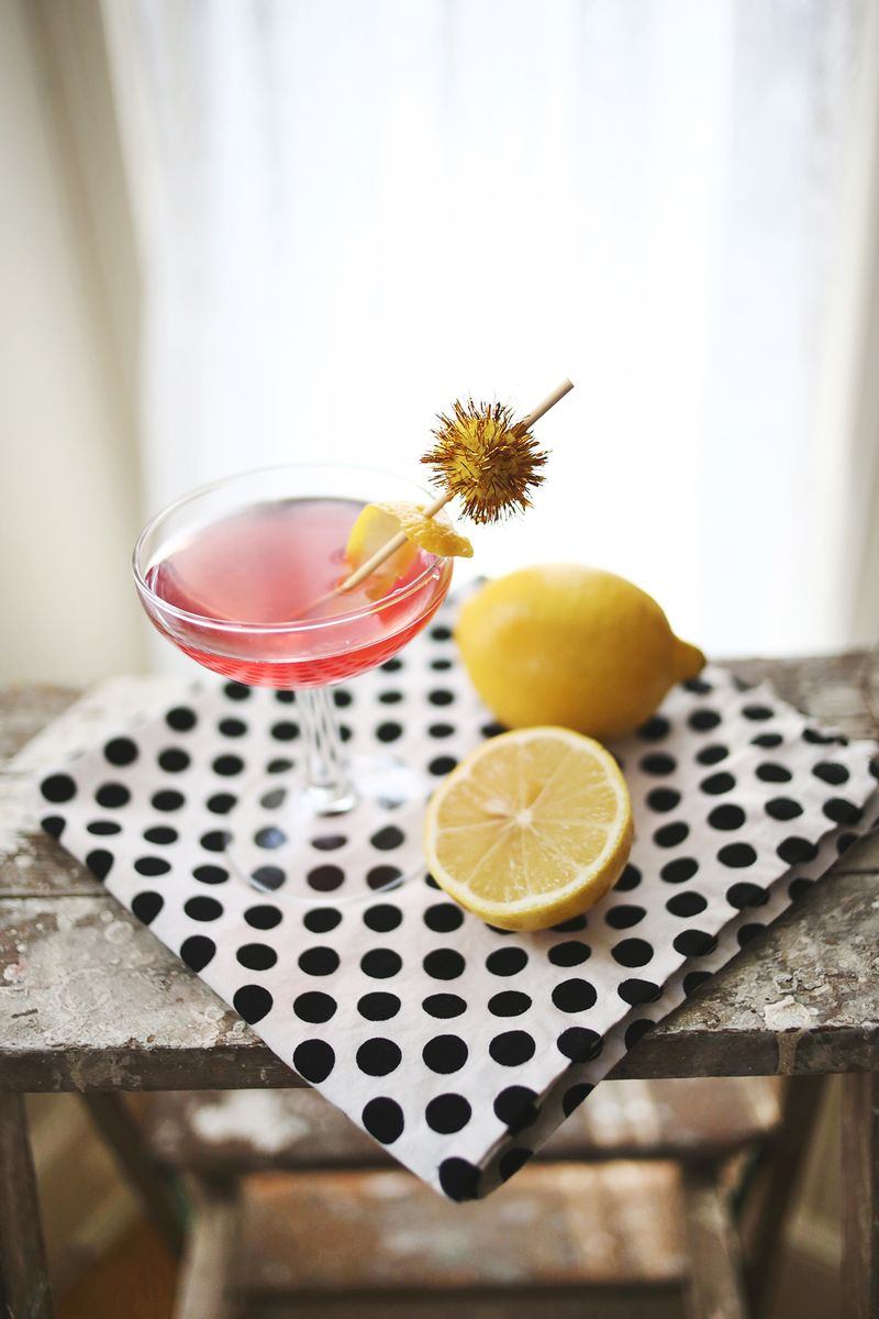 Lemonberry Martini abeautifulmess.com